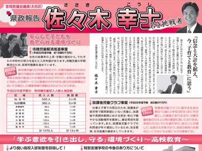 県政報告・広報誌、その他